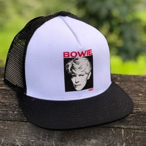 Vans X David Bowie Trucker Snap Back Hat NWT